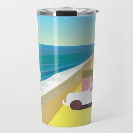 Alone at Bungalow Beach Travel Mug