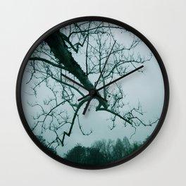 Gray Skies Wall Clock