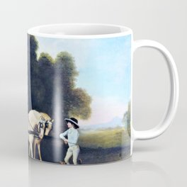Phaeton With A Pair Of Cream Ponies And A Stable-lad - George Stubbs Coffee Mug