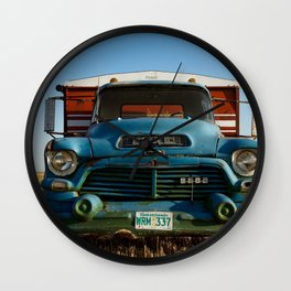 G.M.C. Grain Truck Wall Clock