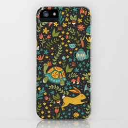 Tortoise and the Hare iPhone Case