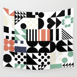 RAND PATTERNS #123: Procedural Art Wall Tapestry