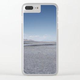 Across The Salt Lake Clear iPhone Case