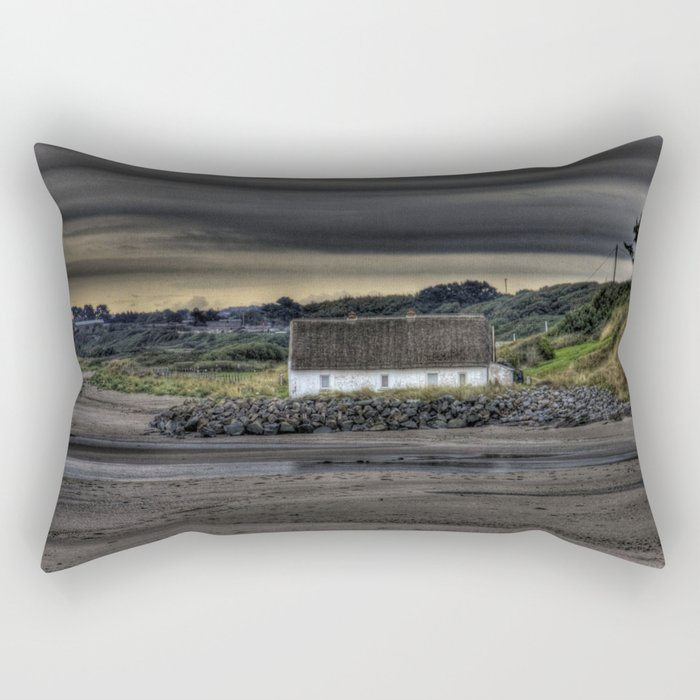 Cottage @ Laytown Beach Rectangular Pillow