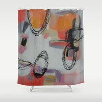 macaroons Shower Curtains featuring Macaroons by Patricia Schwimmer