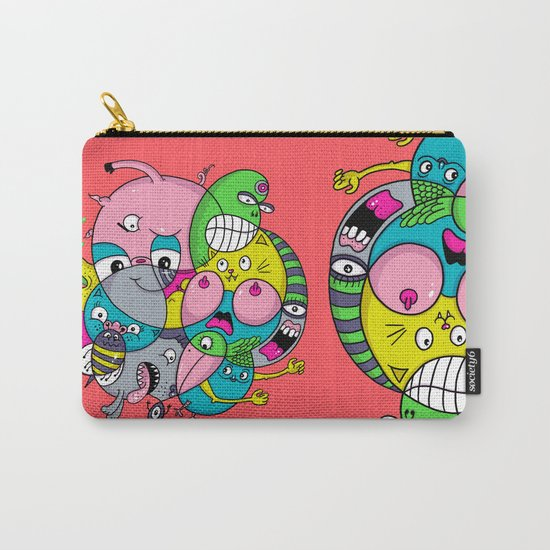 Scribble Ball Carry-All Pouch