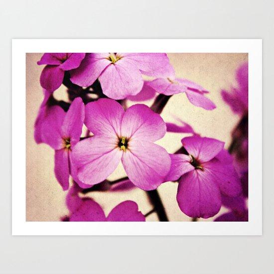 Potent Purple Art Print