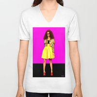 colombia V-neck T-shirts featuring Moda…Colombia by FiVe