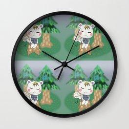 Sleepy Marshal Wall Clock