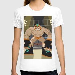 wrestling fighter masked wrestler T-shirt