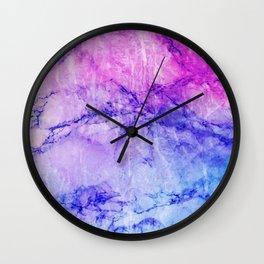 Vivid Stones Wall Clock