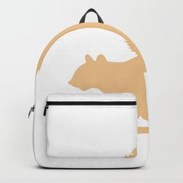 Keep your nuts to yourself I'm allergic Nut Allergic Gift Backpack