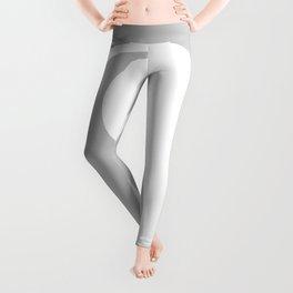 Yin & Yang (White & Gray) Leggings