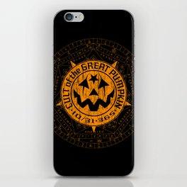 Cult of the Great Pumpkin: Alchemy Logo iPhone Skin