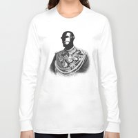 general Long Sleeve T-shirts featuring General Electric by Jorge Lopez