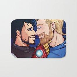 beard boyfriends Bath Mat