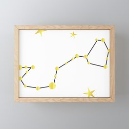 Scorpio Framed Mini Art Print
