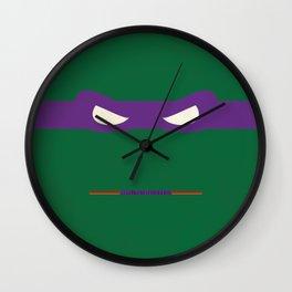 Purple Ninja Turtles Donatello Wall Clock