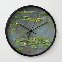 "Claude Monet ""Water Lilies"" (6) Wall Clock"