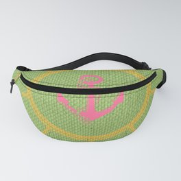 Lime Anchoria Fanny Pack