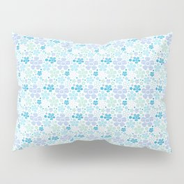 Patchy Flowers Pillow Sham