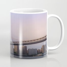 Manhattan Bridge at Sunset Coffee Mug