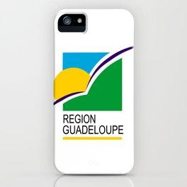 Region Guadeloupe flag iPhone Case