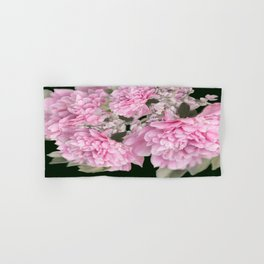 Pink Bouquet On A Black Background  #society6 #buyart Hand & Bath Towel