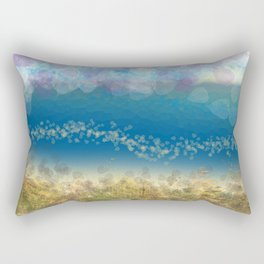 Abstract Seascape 02 wc Rectangular Pillow