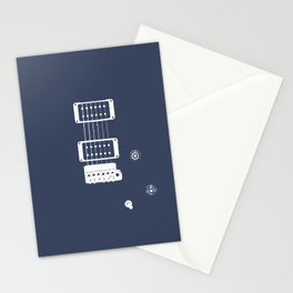 Double Cut Guitar Stationery Cards