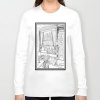 puppies Long Sleeve T-shirts featuring Corgi puppies by Agy Wilson
