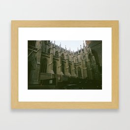 A Holy Place in the Big Apple Framed Art Print