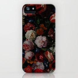 Vintage & Shabby Chic - Dutch Midnight Garden iPhone Case