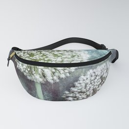 Allium Flowers Fanny Pack