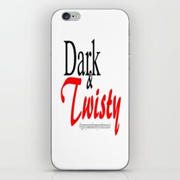 Dark and Twisty  iPhone Skin
