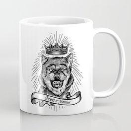 """Feast Or Famine"" – Crowned Wolf Coffee Mug"