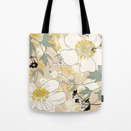 Ranunculus Cloth Tote Bag