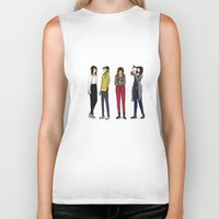 ombre Biker Tanks featuring Ombre by 1hugaday
