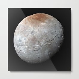 1274. Charon in Enhanced Color Metal Print