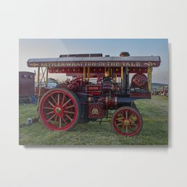 Showmans Traction Engine Metal Print