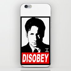 Disobey Mulder iPhone & iPod Skin