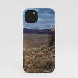 Comanche Trail iPhone Case