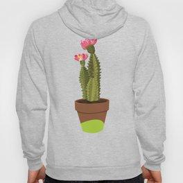 Green Pot Cactus Hoody