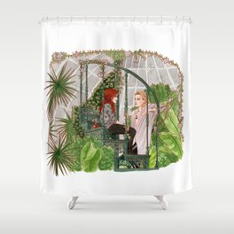 The Mortal Instruments Shower Curtain