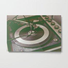 Spin Me 'Round Metal Print