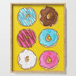 DONUTS! Serving Tray