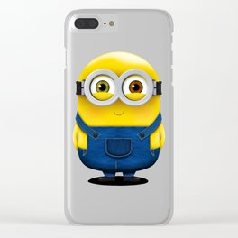 Minion BOB (Blushed) Clear iPhone Case