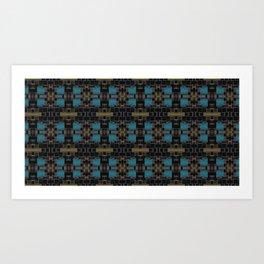 Aq Dze Art Print