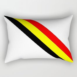 Flag of belgium 4 belgian,belge,belgique,bruxelles,Tintin,Simenon,Europe,Charleroi,Anvers,Maeterlinc Rectangular Pillow