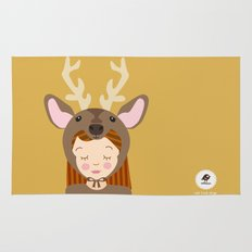 Like a deer.. Rug